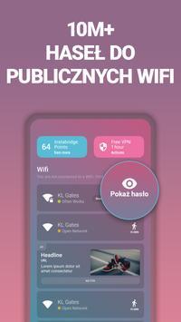 Bezpłatne hasła Wi-Fi i Hotspoty w Instabridge plakat