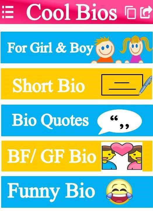 Cool Bios For Android Apk Download