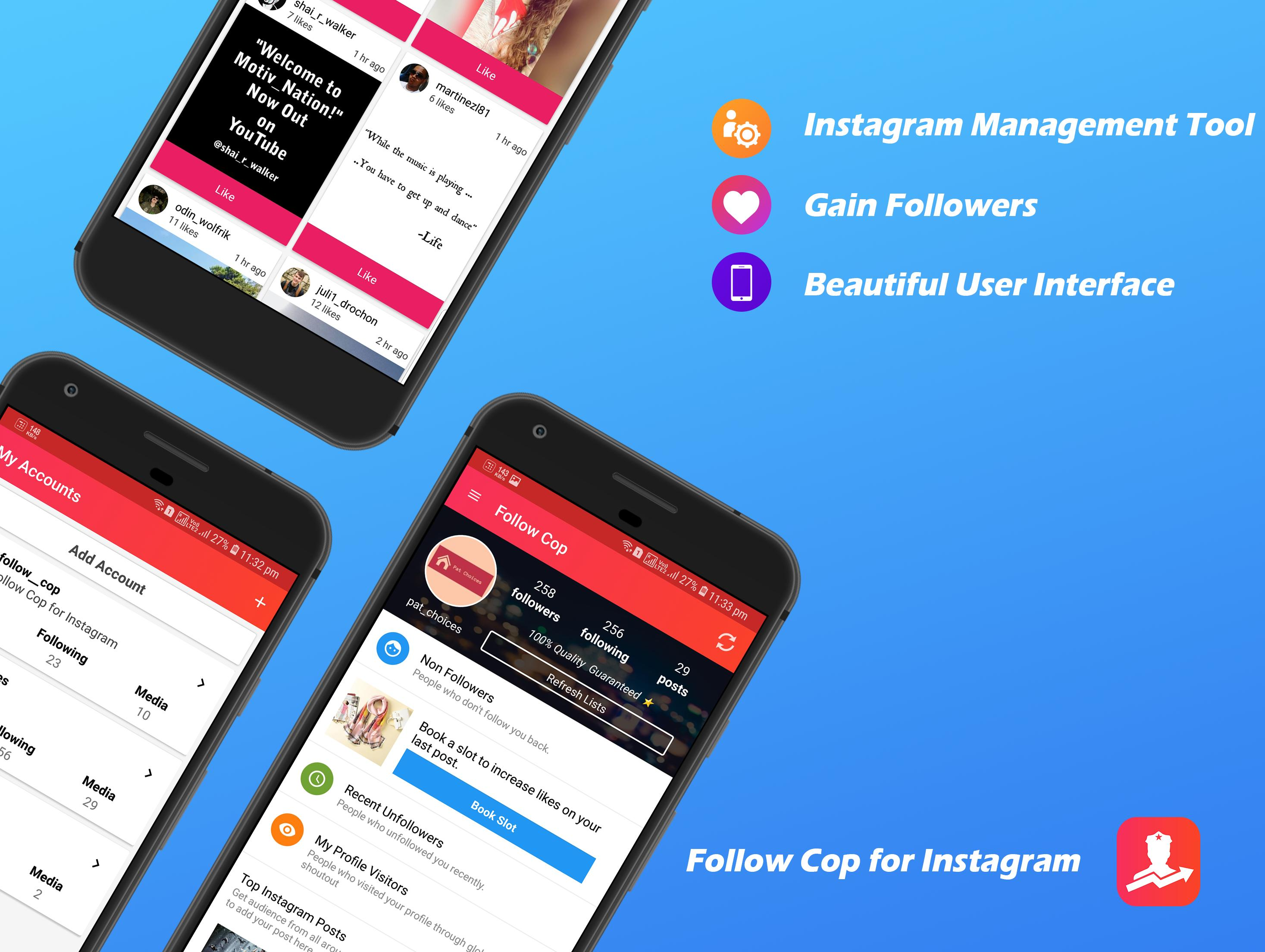Unfollowers for Instagram, Follow Cop for Android - APK Download
