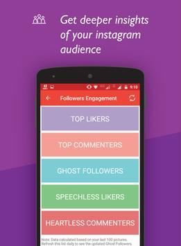 Unfollowers for Instagram, Follow Cop imagem de tela 3