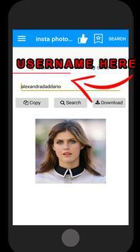 instagrame photo profile downloader screenshot 3