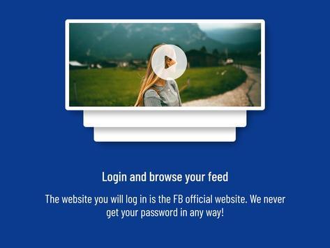 Video Downloader for FB plakat
