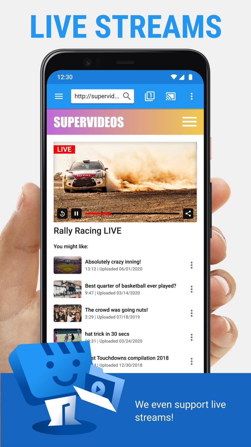 Web Video Cast | Browser to TV/Chromecast/Roku/+ for ...