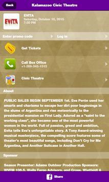 Kalamazoo Civic Theatre screenshot 2