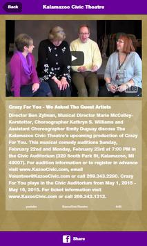 Kalamazoo Civic Theatre screenshot 3