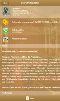 Opera Philadelphia screenshot 2