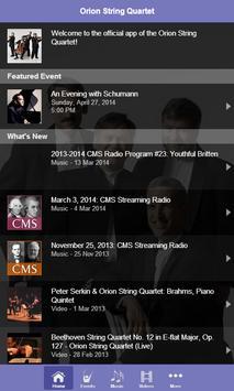 Orion String Quartet screenshot 1