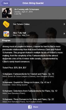 Orion String Quartet screenshot 2