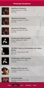 Pittsburgh Symphony Orchestra screenshot 1