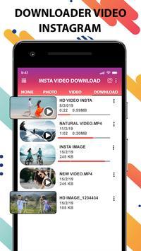 Video downloader for Instagram-fast save,quicksave screenshot 4
