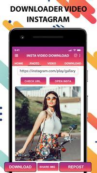 Video downloader for Instagram-fast save,quicksave screenshot 1