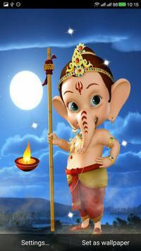 Ganesha Live Wallpaper poster
