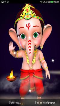 Ganesha Live Wallpaper screenshot 2