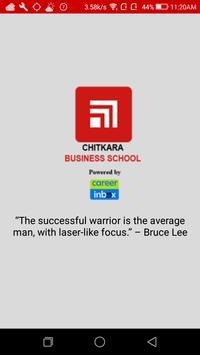 Chitkara E-Learning poster