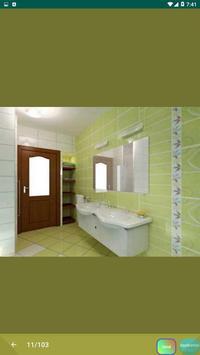 Best Bathroom Tile Designs idea screenshot 3