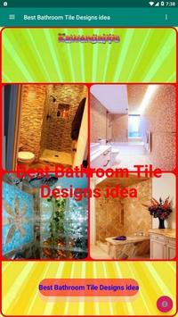 Best Bathroom Tile Designs idea screenshot 16