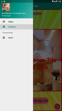 Best Bathroom Tile Designs idea screenshot 1