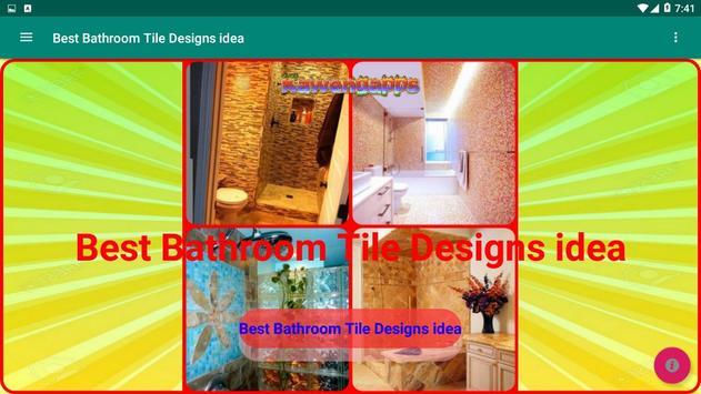 Best Bathroom Tile Designs idea screenshot 21