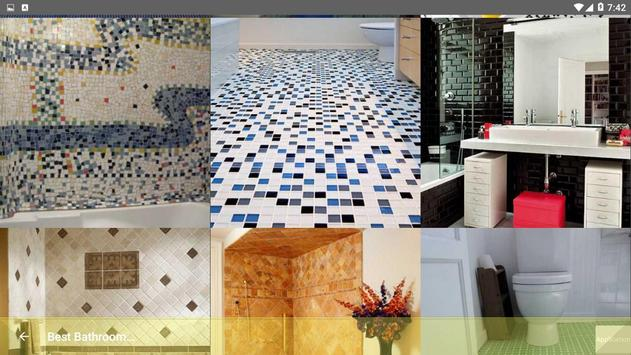Best Bathroom Tile Designs idea screenshot 22