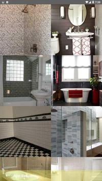 Best Bathroom Tile Designs idea screenshot 2