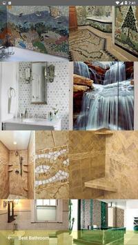 Best Bathroom Tile Designs idea screenshot 4