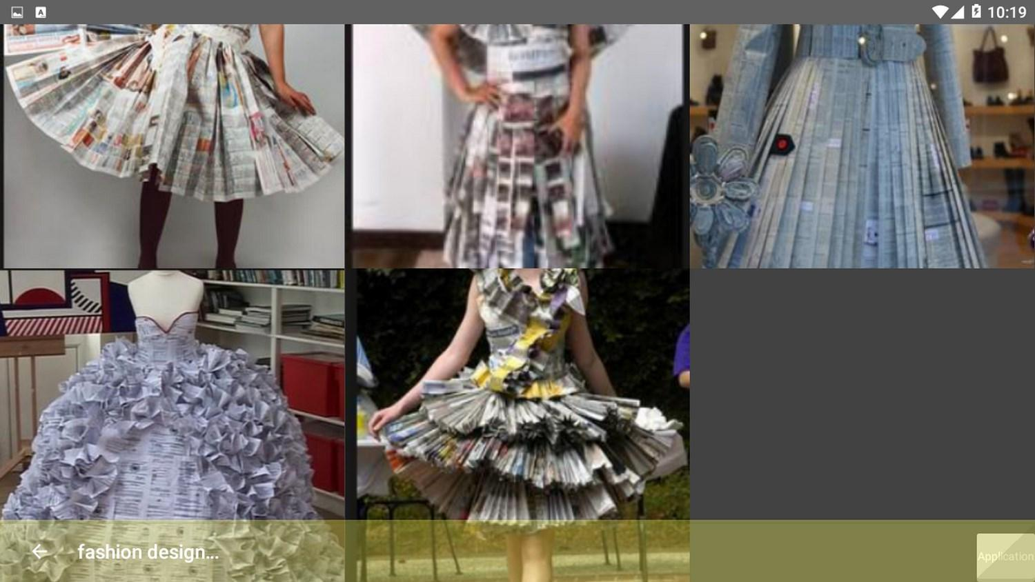 Fashion Design From The Newspaper For Android Apk Download