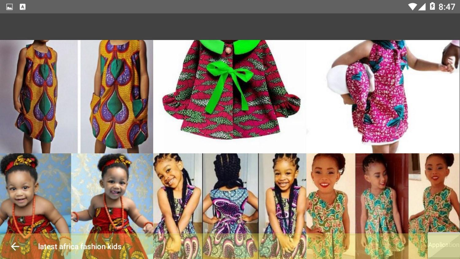 Latest Africa Fashion Kids For Android Apk Download