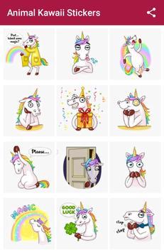 animal Kawaii Stickers for Whatsapp screenshot 5