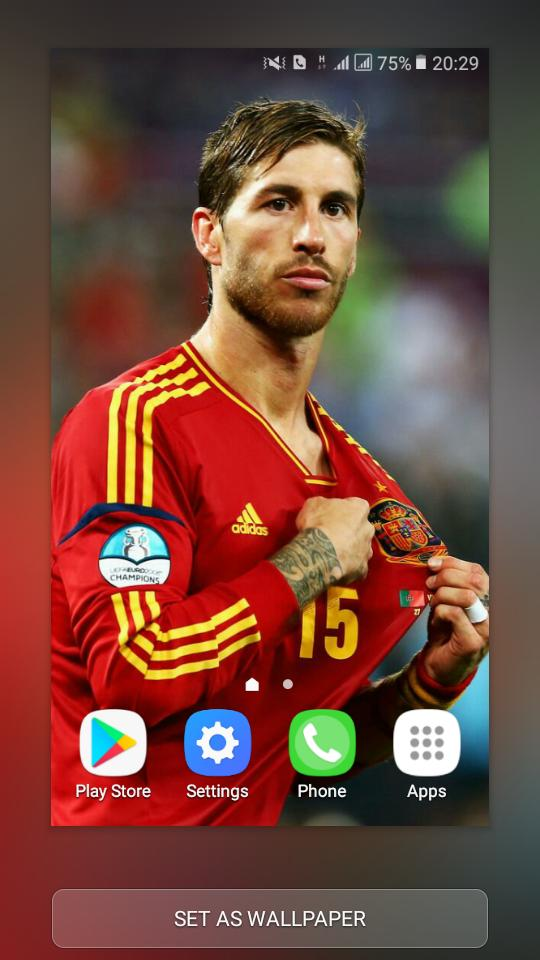 Sergio Ramos Wallpaper Hd For Android Apk Download
