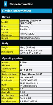 Phone Information poster