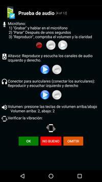 Prueba telefónica -Phone test captura de pantalla 5