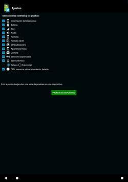 Prueba telefónica -Phone test captura de pantalla 8