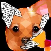 inPoly – Rompecabezas de arte poligonal icono