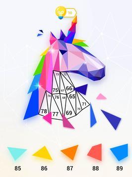 inPoly – Rompecabezas de arte poligonal captura de pantalla 14