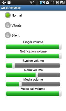 Quick Volume Settings poster