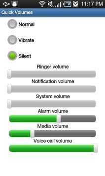Quick Volume Settings screenshot 2