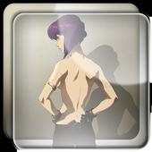 Motoko Parallax Live Wallpaper icon
