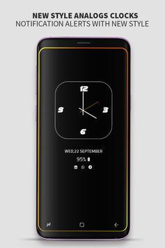 Always on Display photo clock : Super-amoled screenshot 2