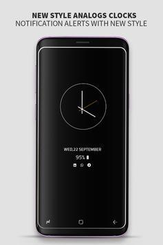 Always on Display photo clock : Super-amoled screenshot 3