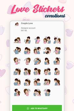 Love Stickers screenshot 5