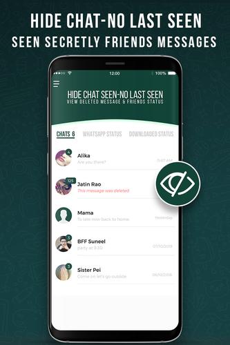 Hide Chat Seen Unseen Status Saver For Whatsapp Apk 12