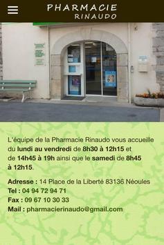 Pharmacie Rinaudo Néoules screenshot 10