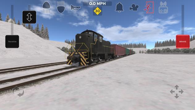 Train and rail yard simulator screenshot 8