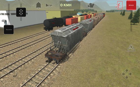 Train and rail yard simulator screenshot 13
