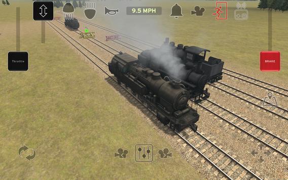 Train and rail yard simulator screenshot 14
