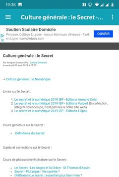 Intégrer Sciences Po screenshot 3