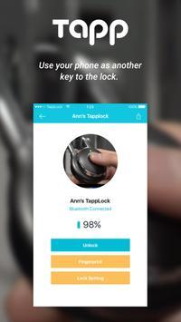 Tapplock screenshot 2