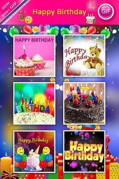 Happy Birthday GIF screenshot 2