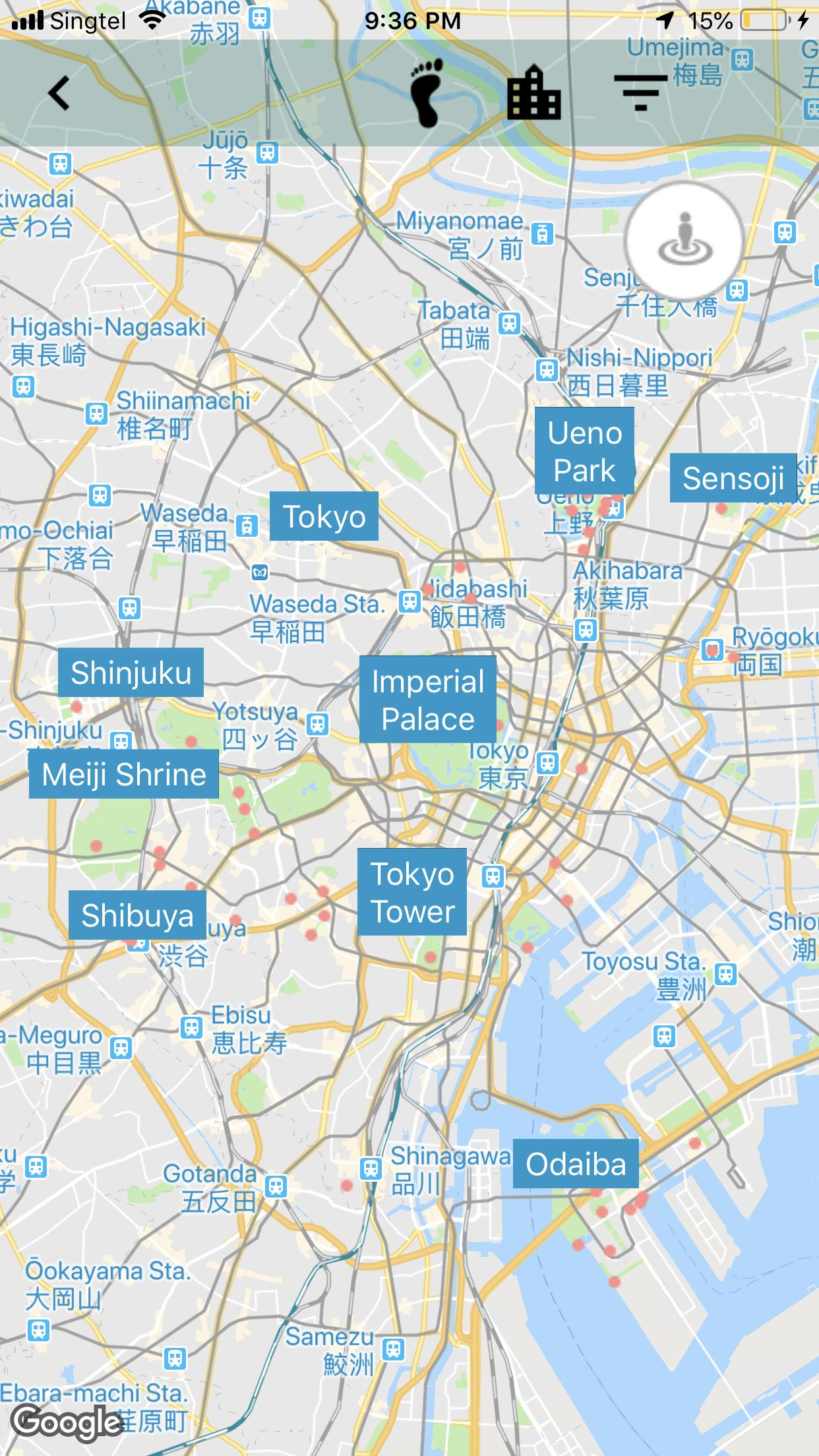 Tokyo Subway Map With Attractions.Tokyo Travel Guide Attraction Jr Subway Map For Android Apk