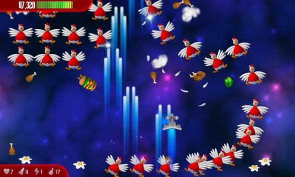 Chicken Invaders 3 Xmas capture d'écran 2